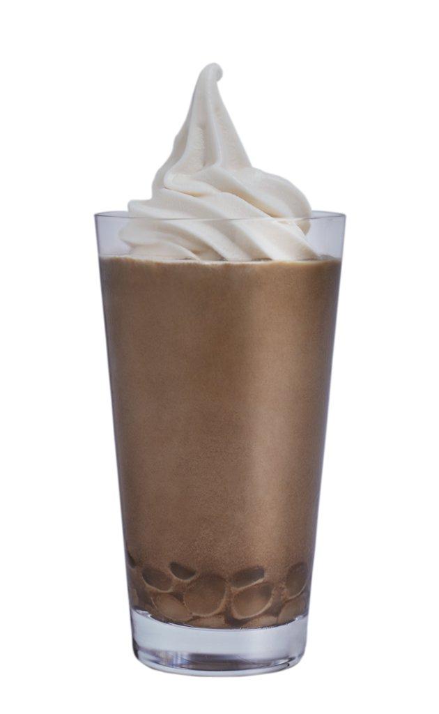 ほうじ茶ソフトクリームモチラテ